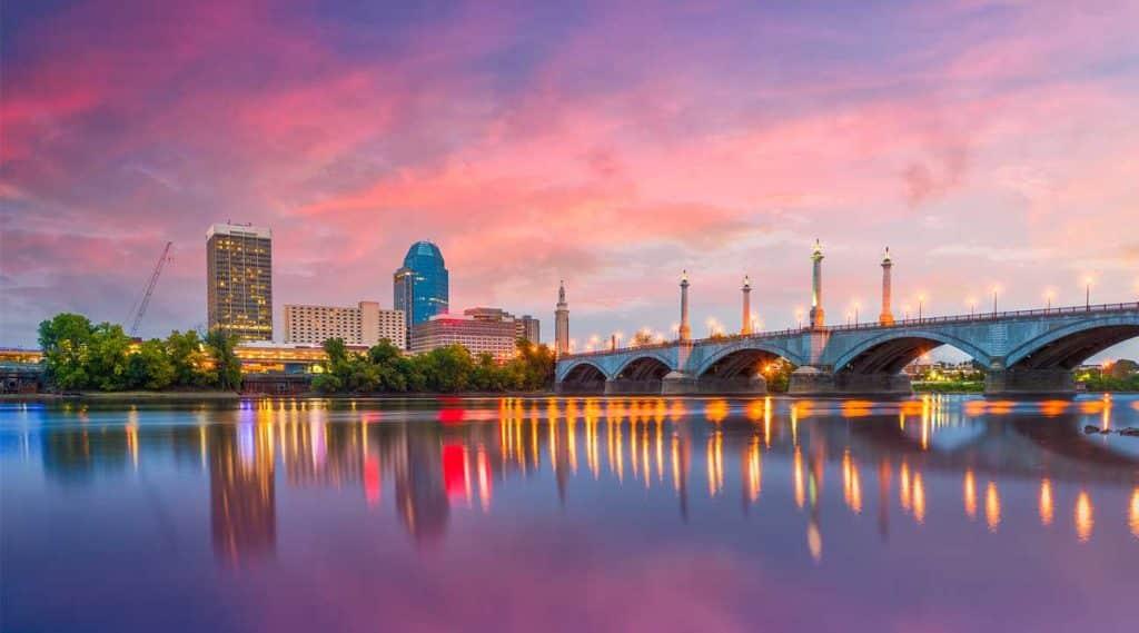 Springfield Massachusetts Bridge