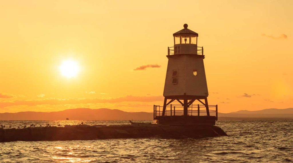 lighthouse in Burlington Vermont