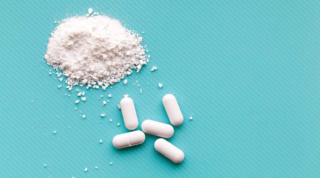 crushed white pills codeine opioids