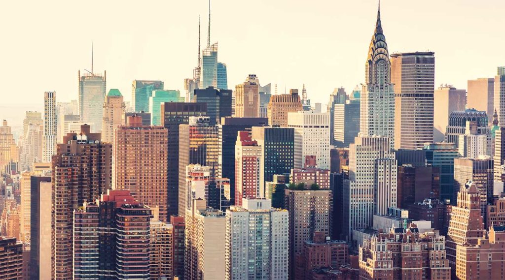 New York City, NY skyline