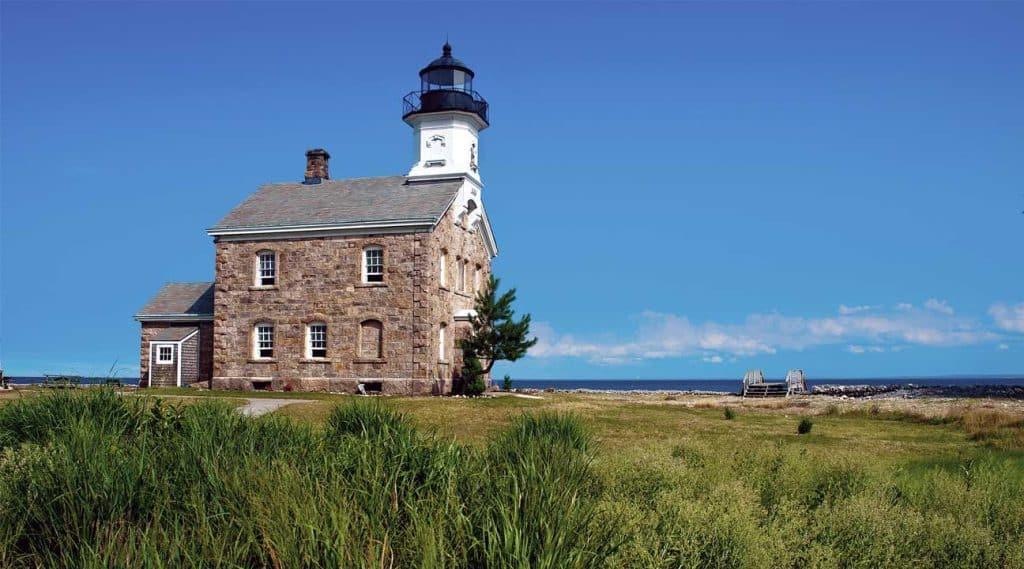 lighthouse on the coast of Norwalk, Connecticut