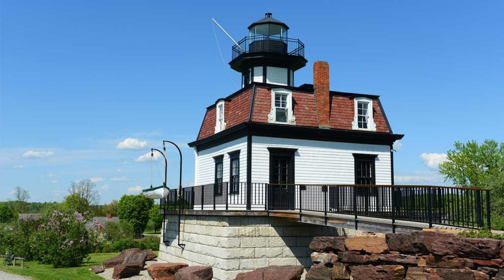 lighthouse in Colchester, Vermont