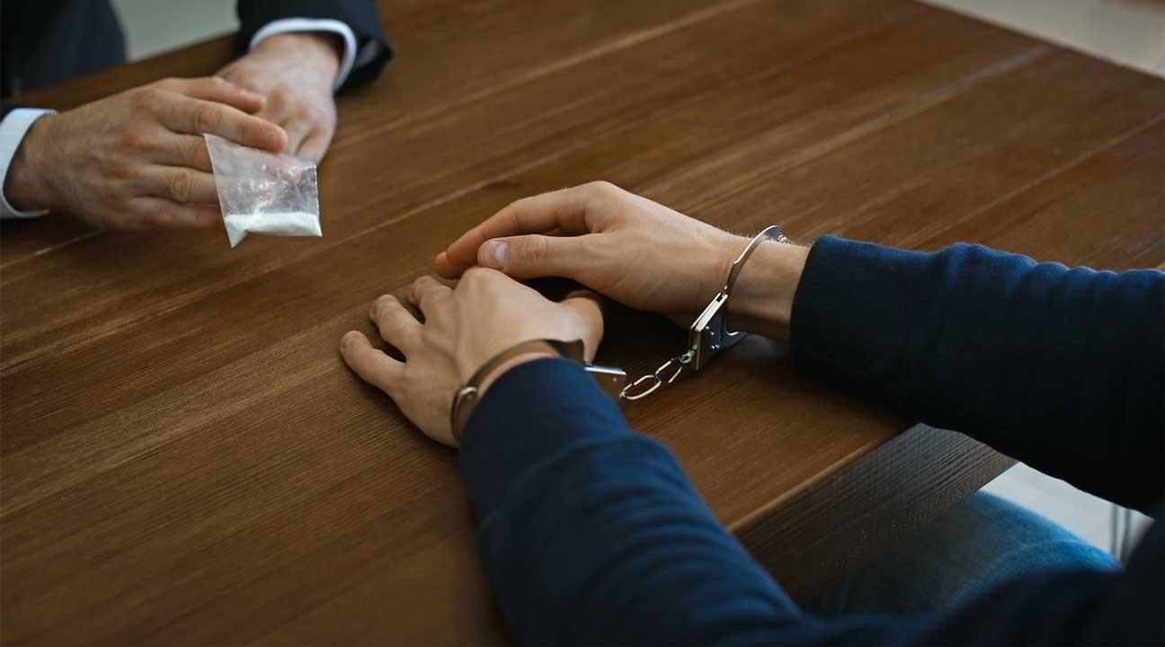 I man arrested for drug possession