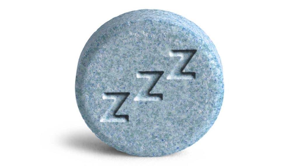 blue pill Lunesta sleeping pill