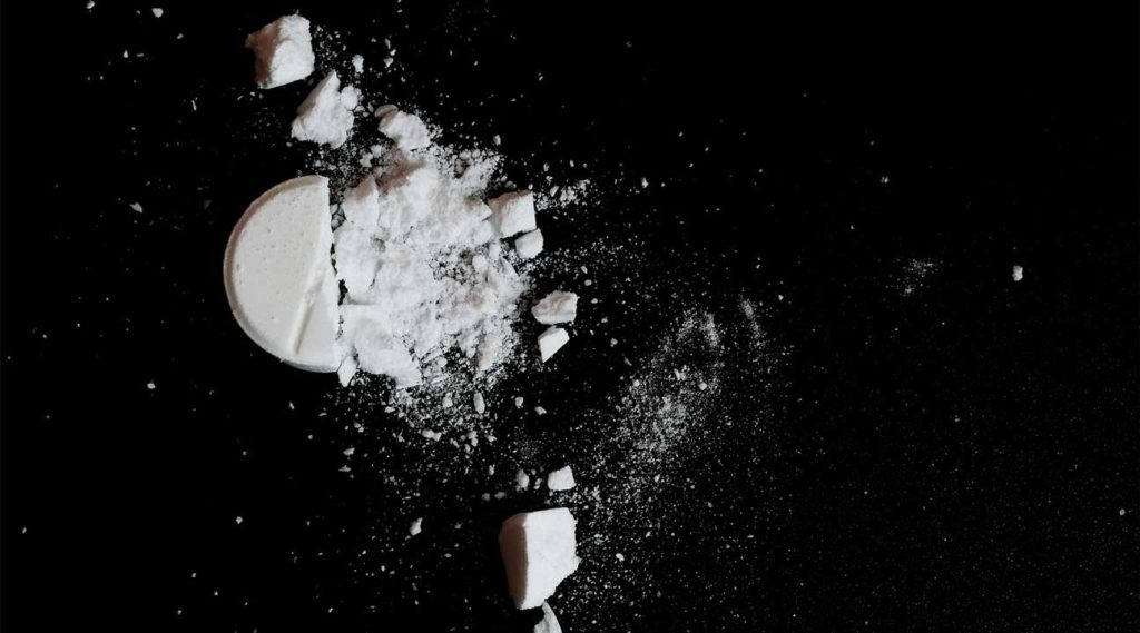 crushed white pills Oxycodone Percocet Oxycontin