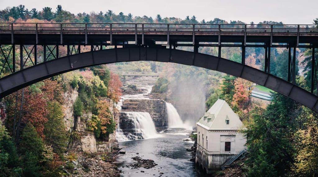 bridge near Amherst New York