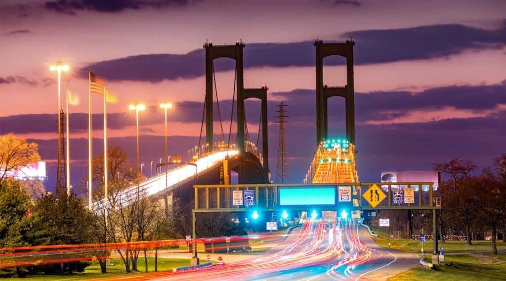 bridge near North Tonawanda, New York