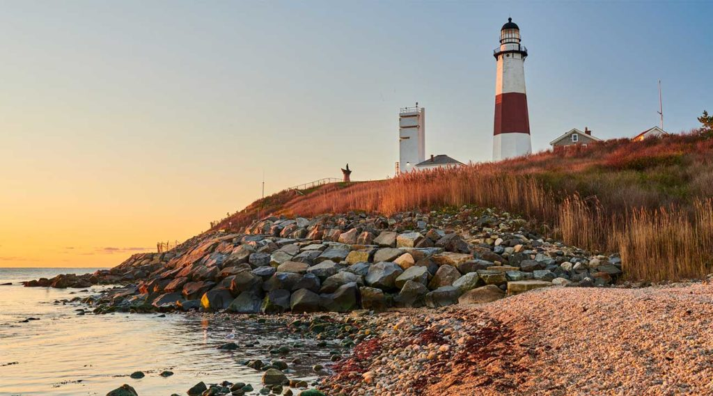lighthouse near Oyster Bay, Long Island, New York