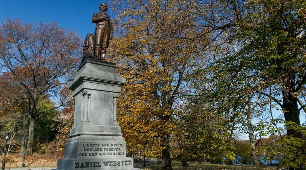 statue of Daniel Webster Webster, New York