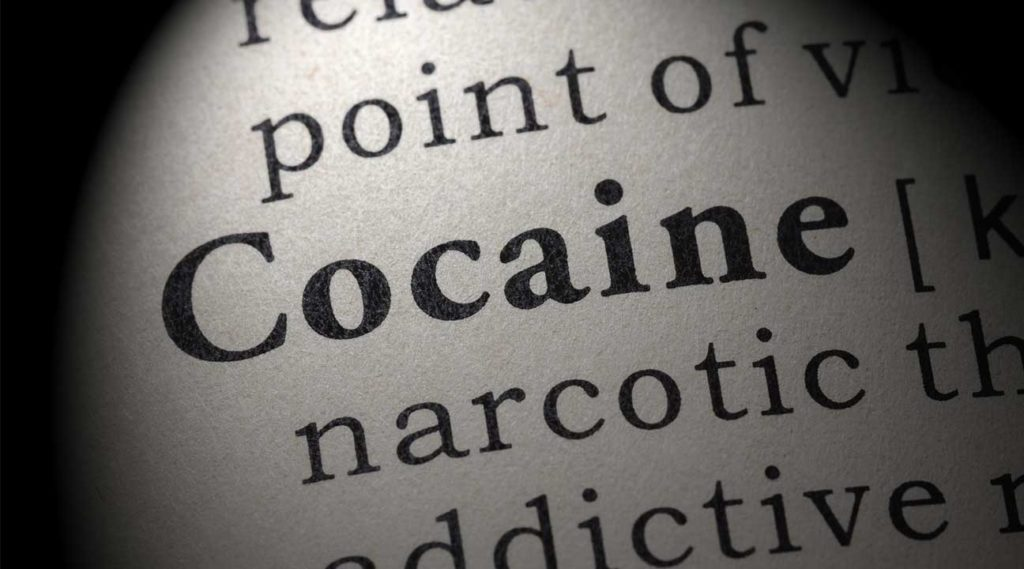 cocaine typed on a piece of paper list of slang for cocaine street names nicknames etc.