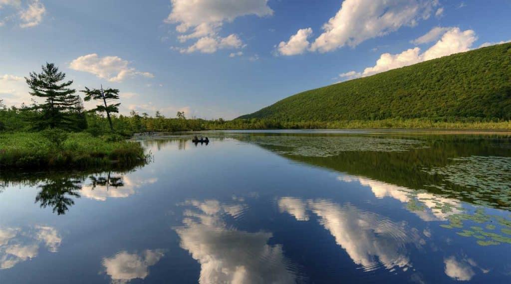 lake near Manlius, New York