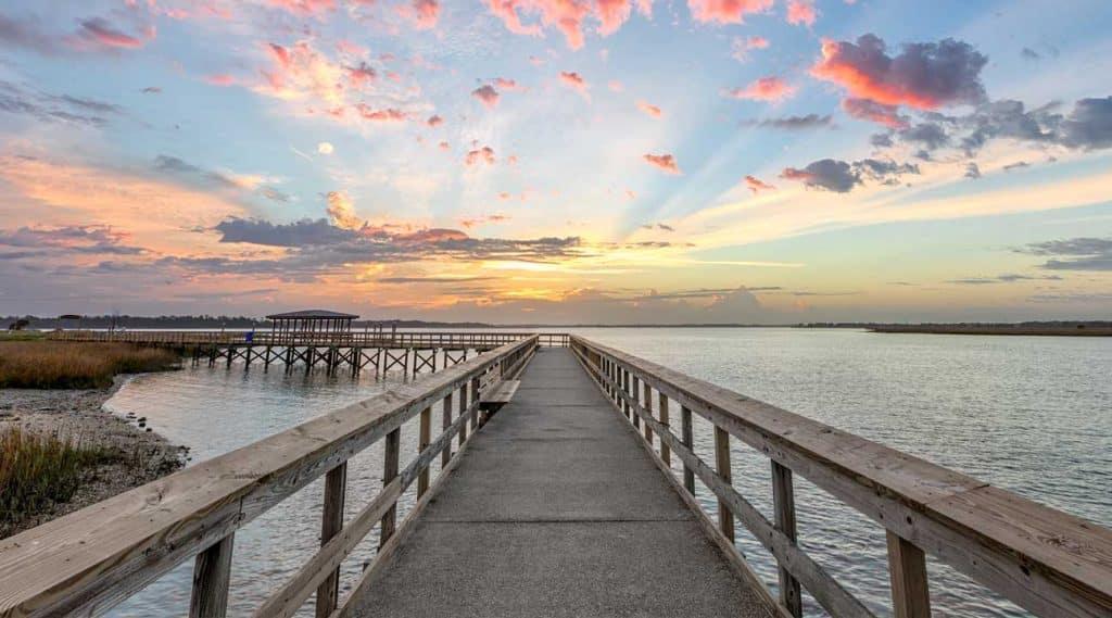 Boardwalk or pier in South Carolina Drug Rehab Centers