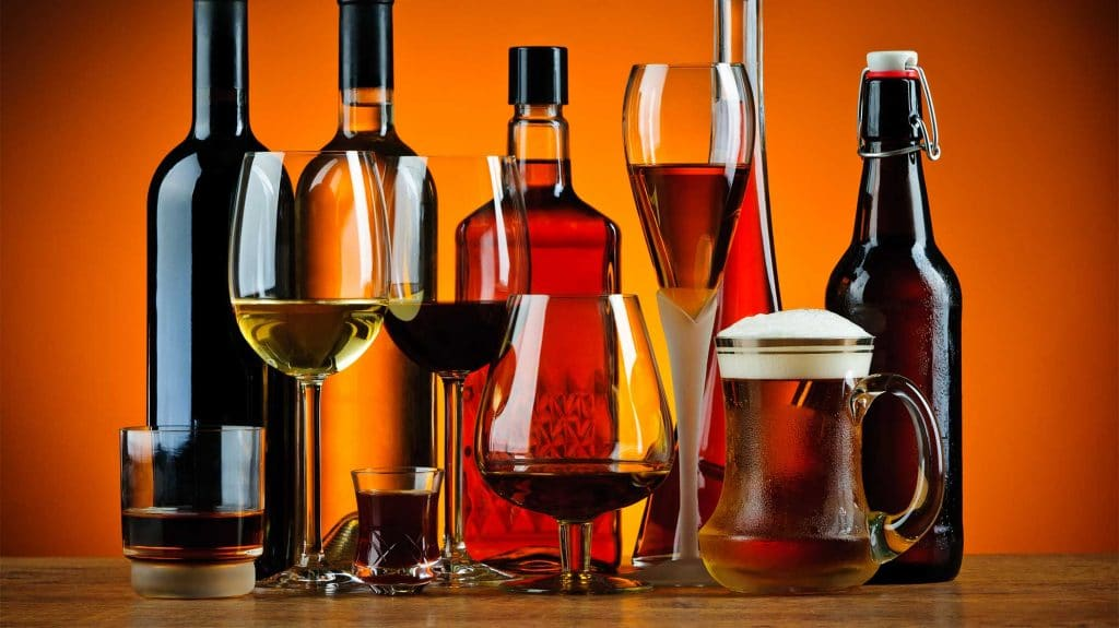 Types Of Alcohol | List Of Popular Drinks By Alcohol Content