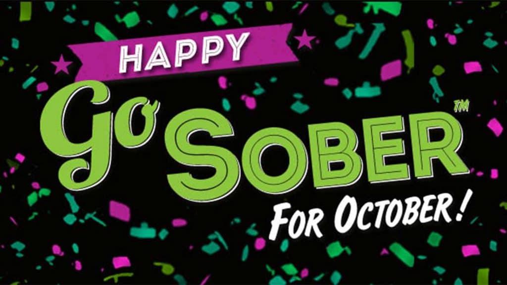 Go Sober For October | Sober October 2021